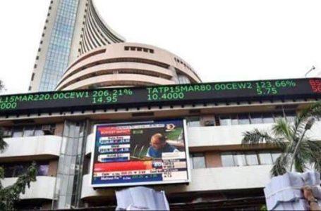 खुलते ही फिसला शेयर बाजार, सेंसेक्स 37600 और निफ्टी 11100 के नीचे